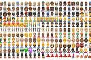 تطبيق واتساب يكشف عن مجموعة وجوه تعبيرية Emoji خاصّة به