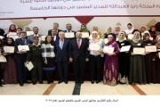 الرزاز يكرم الفائزين بجائزتي المدير المتميز والمعلم المتميز لعام 2017