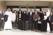 وزيرة الشباب الاماراتية تطلع على برامج جامعةولي العهد