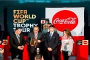 الآلاف يحتفون بجولة كأس العالم من كوكاكولا في العاصمة الأردنية عمان