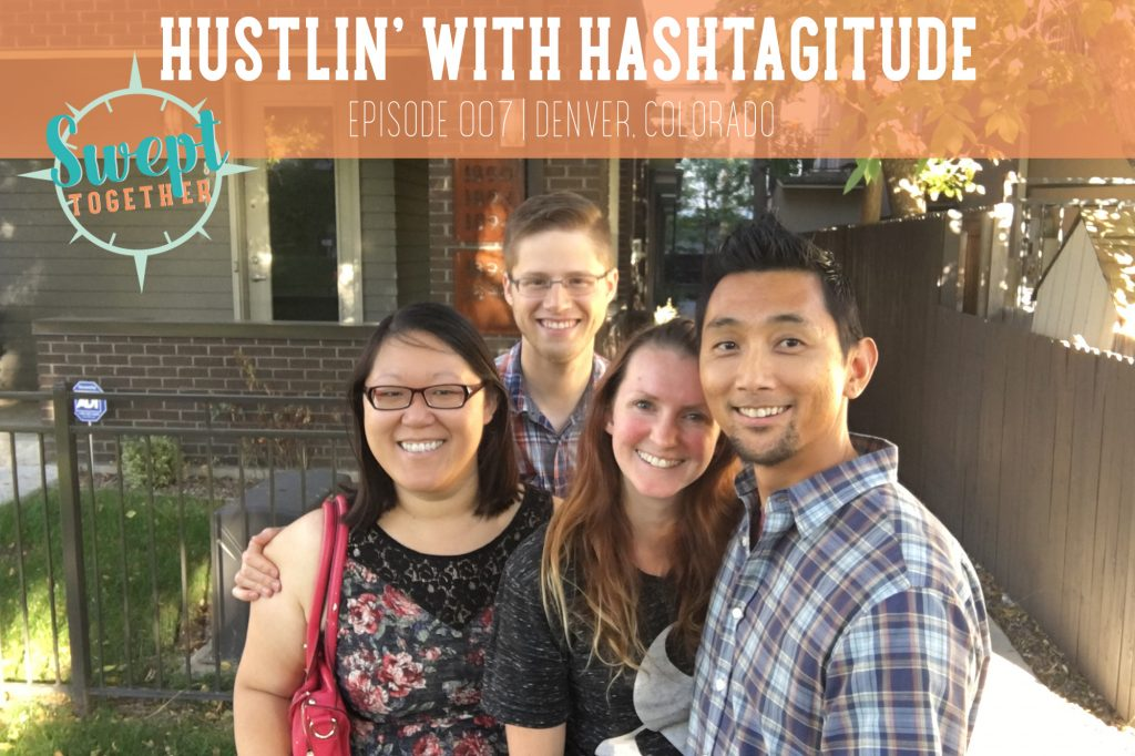 In this episode of Swept Together, Christian and Annabelle interview Hashtagitude's Helene and Ryan about working together and how their skillsets complement each other's.