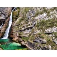 The beautiful Saviča Waterfalls