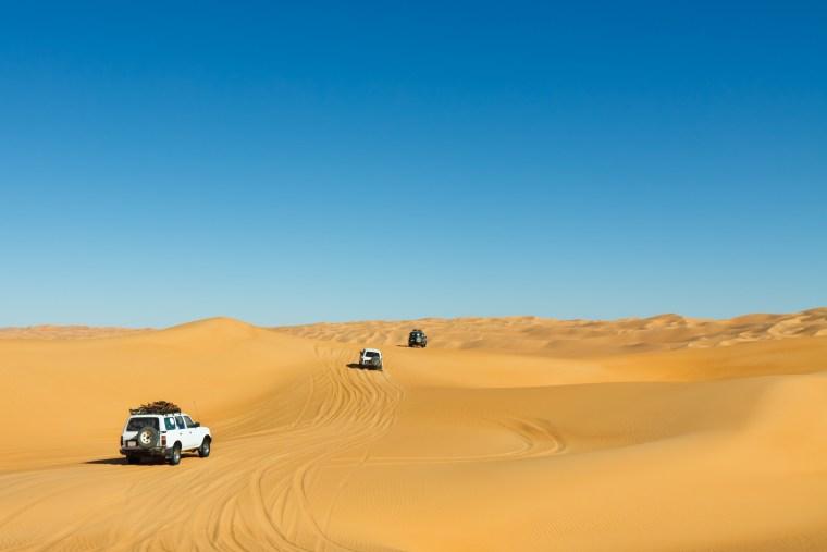 Desert Safari evening view