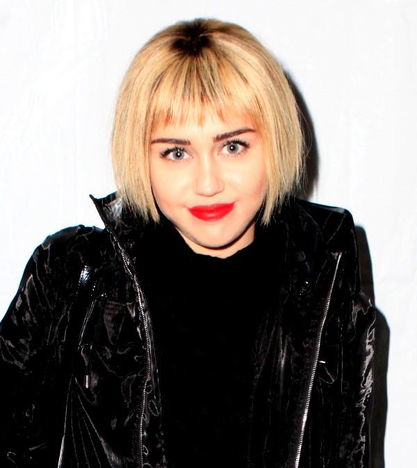 Miley Cyrus New Hair-do