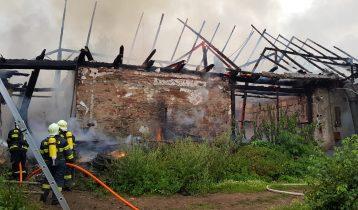 01.08.2021 Požár stodoly