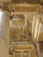 More detail of Celsus Library