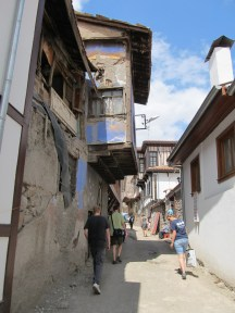 Streets inside the citadel area. Steep and narrow!