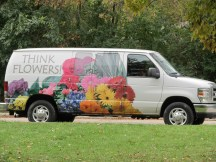 Did they come in a flower van?