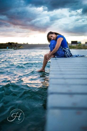 Idaho Lake Nature Senior Fashion Photographer (13)