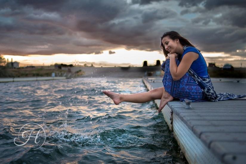 Idaho Lake Nature Senior Fashion Photographer (15)
