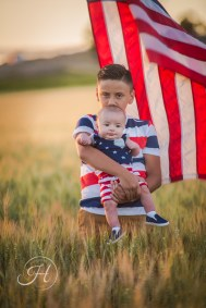Patriotic Family Photography Nampa Idaho-199