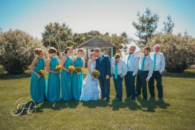 wedding photography Meridian Idaho Cox Farm wedding