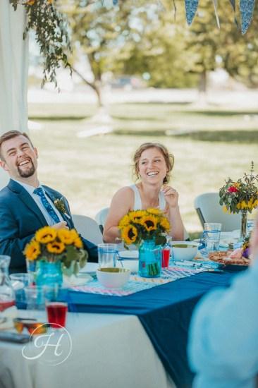 wedding photography Meridian Idaho Valley Shepherd Church happy couple