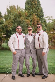 Downtown Boise wedding photography wedding photographer Idaho groom and groomsmen sunglasses