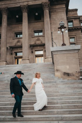 Boise Capitol mountain elopement photography wedding photography los angeles
