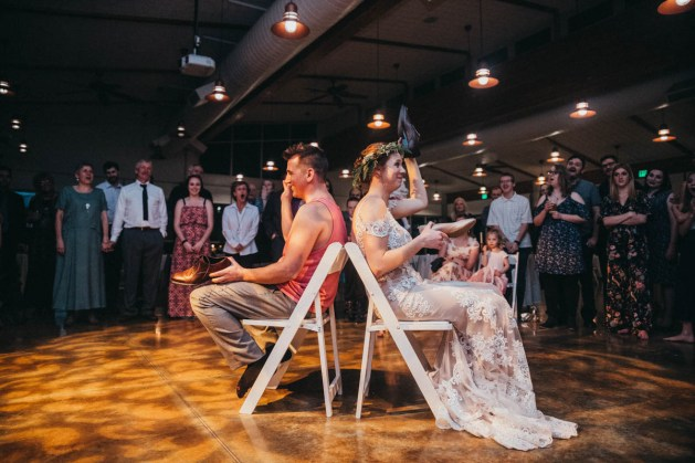 Shoe game wedding photographer los angeles