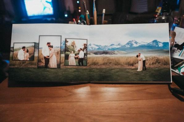Satin Affordable Wedding Album Custom Design-9759