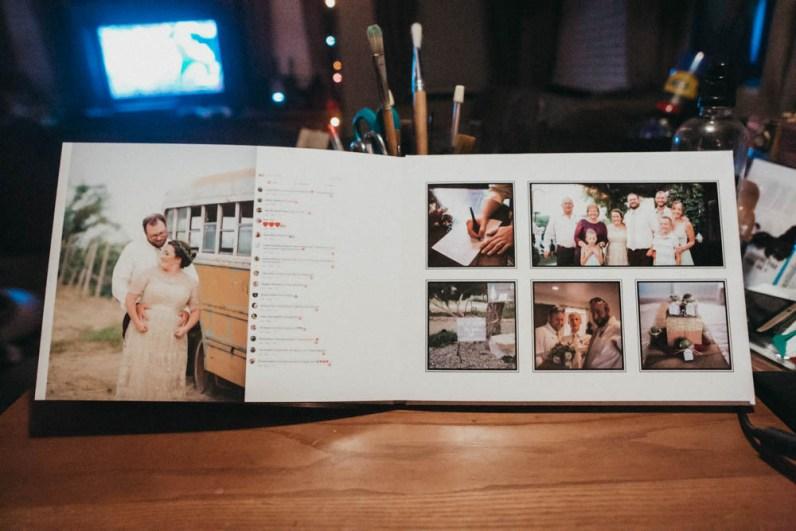 Satin Affordable Wedding Album Custom Design-9764