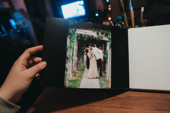 Satin Affordable Wedding Album Custom Design-9766