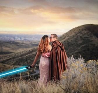 Star Wars Engagement Shoot Wedding Photographer Los Angeles CA (4)