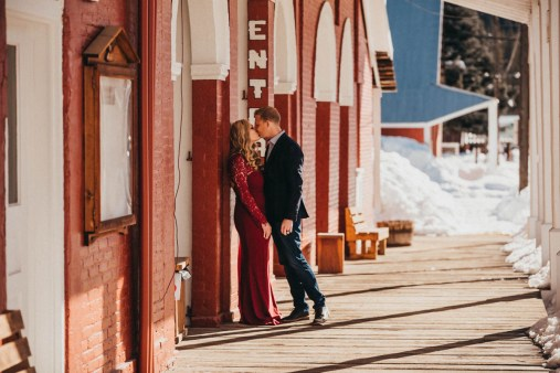Sam and Luke Mountain Engagement Pictures Boise Idaho City-2