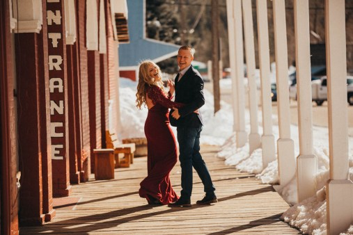 Sam and Luke Mountain Engagement Pictures Boise Idaho City-3