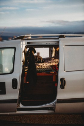 Dodge Ram Promaster Van Conversion for Traveling Photographers
