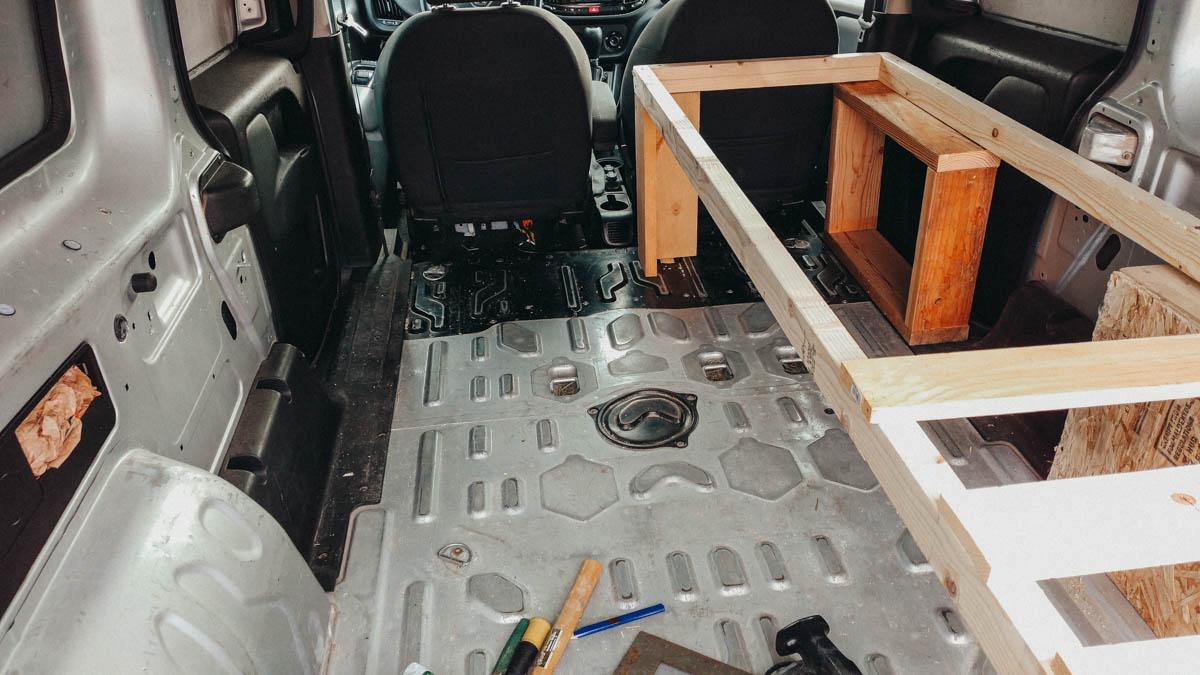 I Built Something! Ram Promaster Van Conversion for Travel