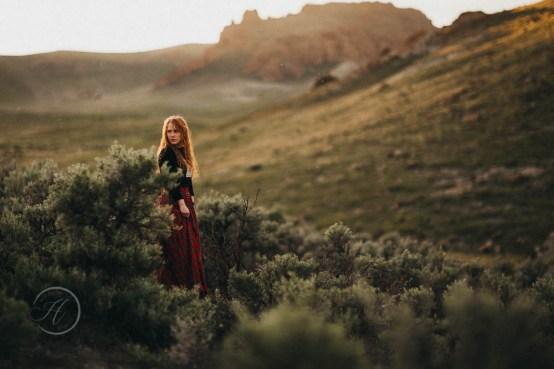 Hannah the Scottish Princess Fashion Photography Los Angeles-406