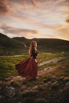 Hannah the Scottish Princess Fashion Photography Los Angeles-662