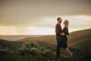 Bogus Basin Road Engagement Photography Los Angeles Boise Wedding Photographer (10)