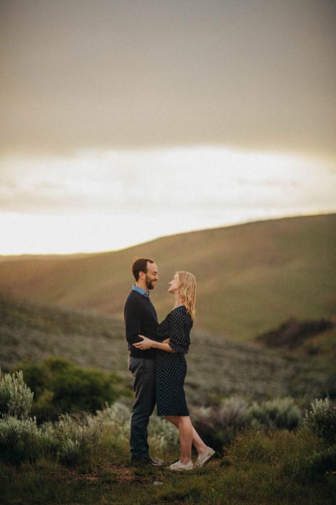 Bogus Basin Road Engagement Photography Los Angeles Boise Wedding Photographer (8)