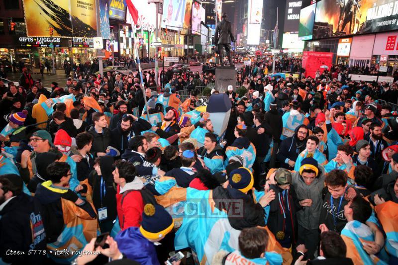 Événement historique : CTeen célèbre la conclusion de l'écriture d'un Sefer Torah à Times Square