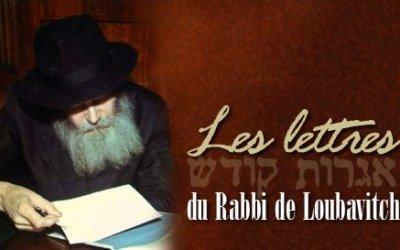 Recueil par thèmes de lettres du Rabbi en français, un projet du Beth Loubavitch