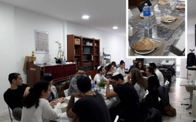 Photo du jour : Chabad On Campus Marseille ouvert durant 'Hol Hamoed Pessa'h