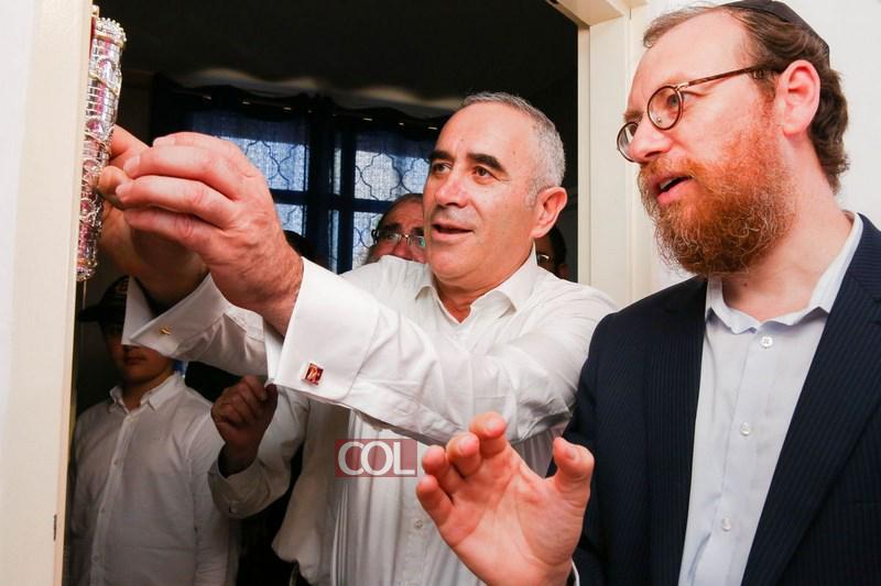 Israël : Gala d'inauguration des nouveaux locaux de l'orphelinat – pension 'Ohr Sim'ha» de Kfar 'Habad