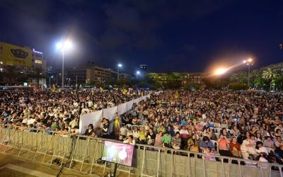 """Le tribunal du district de Tel Aviv a statué : """"Machia'h BaKikar""""sur la place Rabin aura bien lieu avec une séparation"""