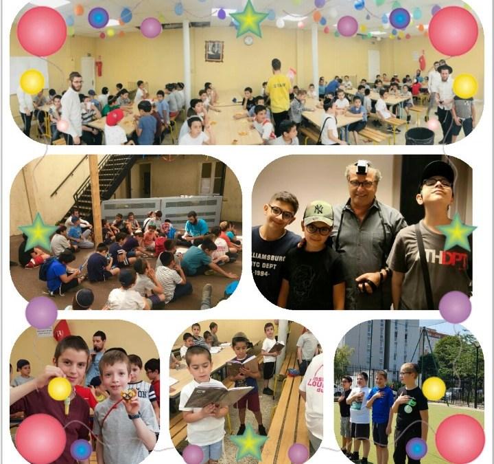 Aubervilliers : Plusieurs centaines d'enfants ont participé au Gan Israel Chneor 2018