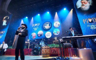 EN IMAGES. Célébration du Youd Teth KIslev à Moscou