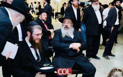 Mariage de 'Hanan Lewin (Pierrefitte) et Nehama Groner (Kiryat Gat) à Kfar Habad