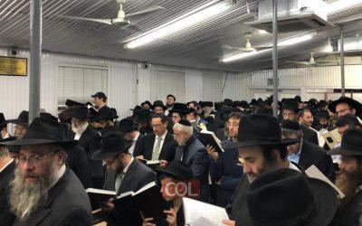 Motsaei Chabbat Sli'hot 5779 au Ohel