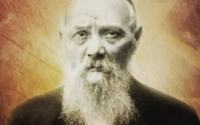 Rabbi Lévi Its'hak, le père du Rabbi, qui, resté à Dniepropetrovsk en URSS, n'avait pas pu participer au mariage de son fils en 1929