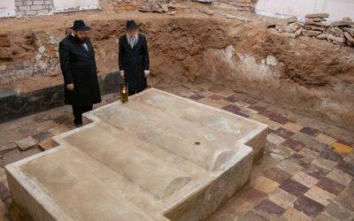 Découverte du véritable tombeau de Rabbi Levi Itshak de Berditchev et de ses trois fils