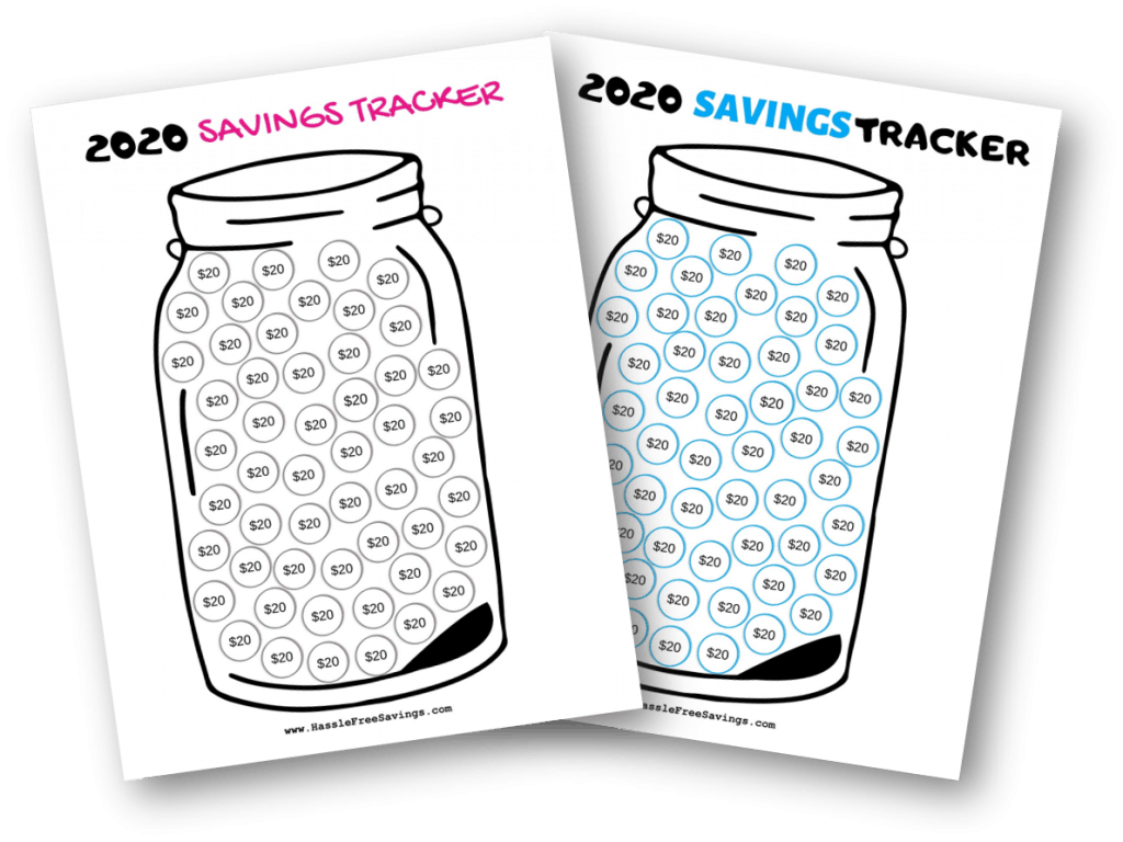 Money Saving Challenges With Free Printables