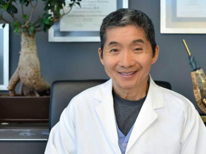 hair transplant surgeon Dr. Wong
