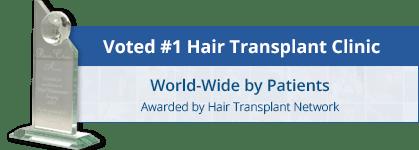 top hair transplant surgeon award