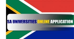 south africa sa universities online application portal