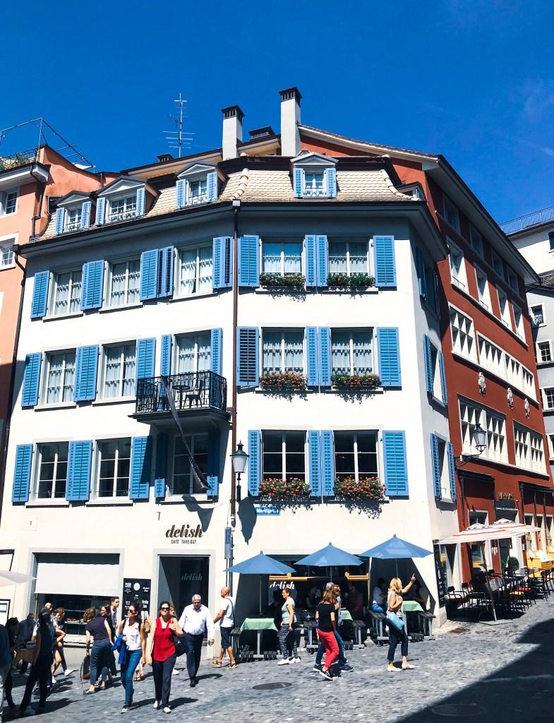 10 puntos para visitar Zurich en un día