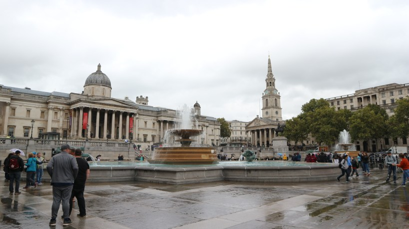 Plaza Trafralgar Square en Londres