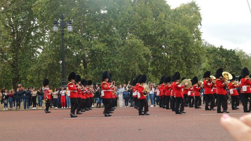 Cambio de la Guardia Real de Londres